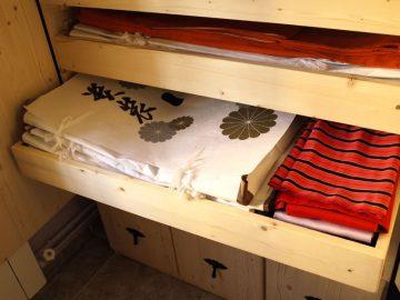 Cuidado y almacenaje del kimono