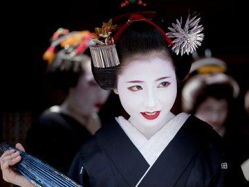 Distinguir una maiko real de una falsa