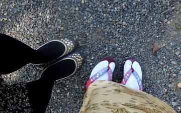 Primer día en kimono y ceremonia del té