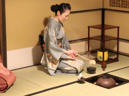 El haiken en la ceremonia del té