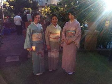 Recepción en la residencia del Cónsul General del Japón