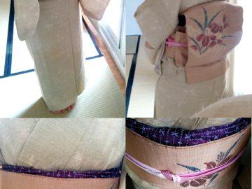 La estacionalidad de los kimonos