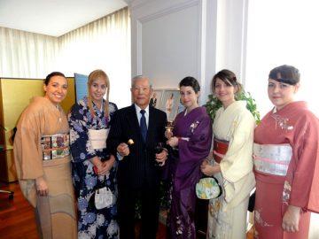 Recepción del Cónsul General del Japón