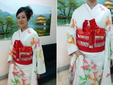 Boda en kimono