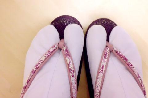 arreglar tiras sandalias japonesas