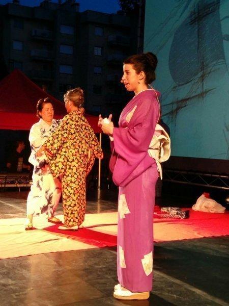 exhibición kimono