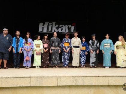 Demostración de yukata