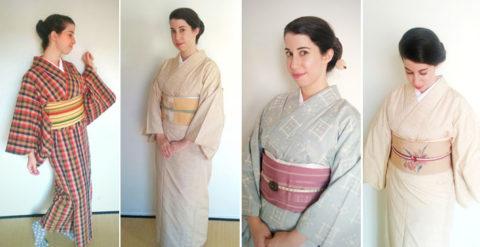 combinación kimono