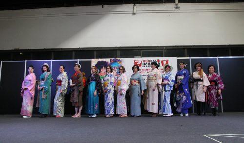 desfile kimono