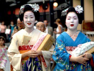 Contratar una geisha