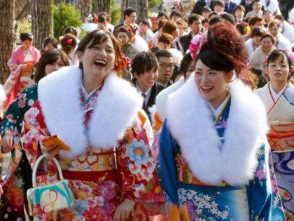 Seijin no hi o la ceremonia de la mayoría de edad
