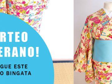 Sorteo de kimono y haori