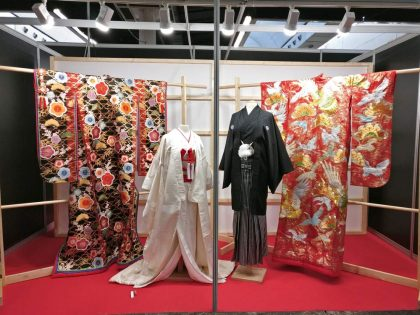 Exposición de kimonos