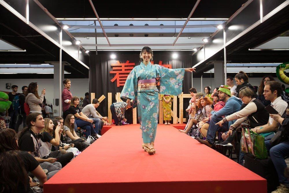 Desfile de yukata