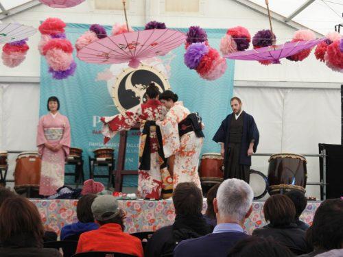 Festa de la primavera kimono