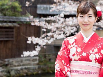 El kimono tradicional