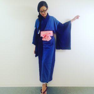 vestir el kimono comodo