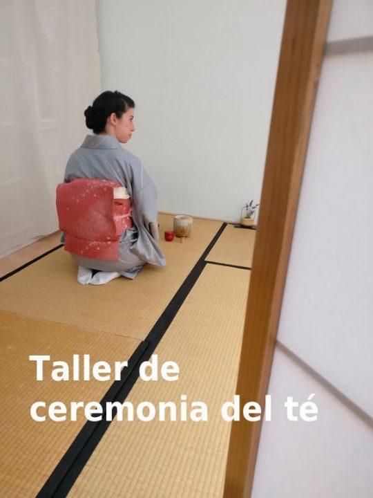 taller ceremonia del té barcelona