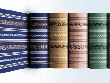 Tejidos de obi: hakata
