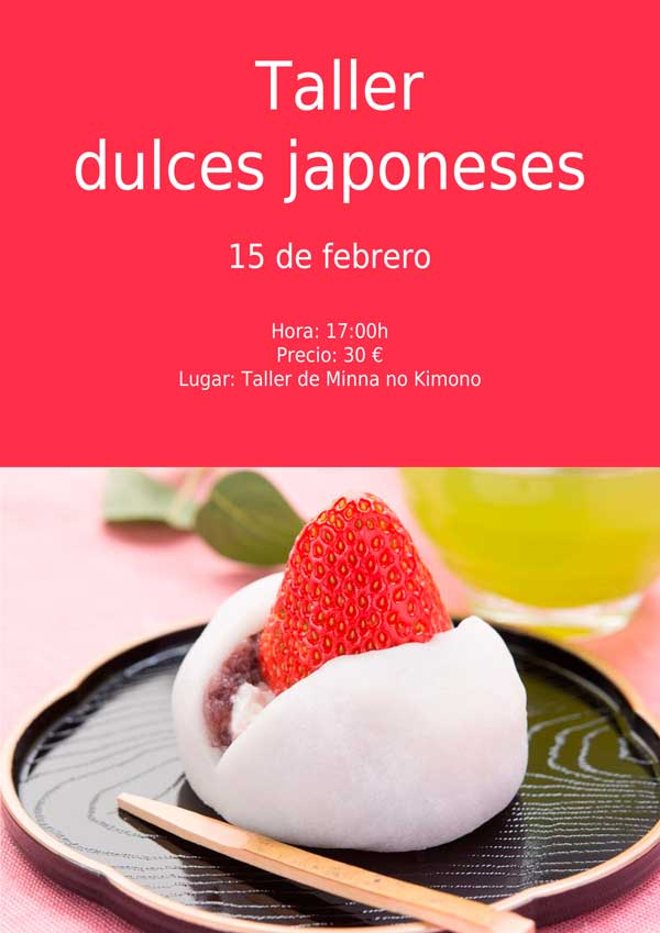 taller de dulces japoneses