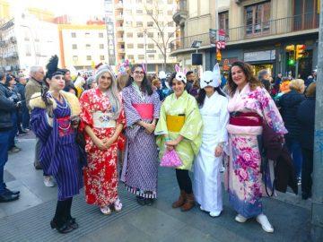 Disfraces de Carnaval con kimono