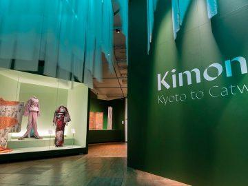 Exposición de kimono en el V&A