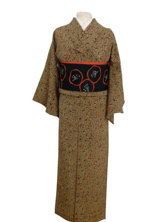 kimono seda japon