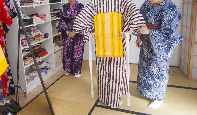 curso kitsuke vestir kimono barcelona