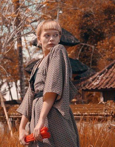 kimono moderno